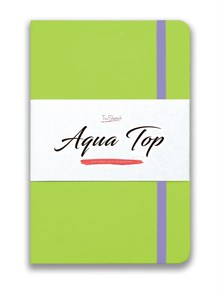 AquaTop A5, скетчбук для акварели, 100% хлопок/ AquaTop A5, sketchbook for watercolor,  100% cotton