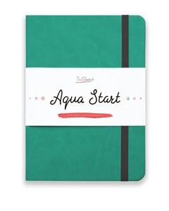 Aqua StArt A5, скетчбук для акварели,  25% хлопка / Aqua StArt A5 sketchbook for watercolor, 25% cotton - фото 4762
