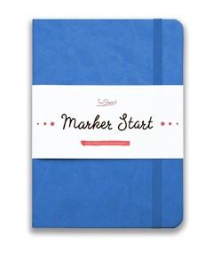 MarkerStArt А5, скетчбук для маркеров /MarkerStArt A5, sketchbook for markers - фото 4773