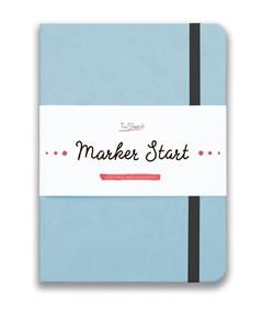 MarkerStArt А5, скетчбук для маркеров /MarkerStArt A5, sketchbook for markers