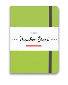 MarkerStArt А5, скетчбук для маркеров /MarkerStArt A5, sketchbook for markers - фото 4779