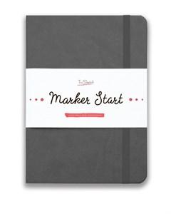 MarkerStArt А5, скетчбук для маркеров /MarkerStArt A5, sketchbook for markers - фото 4780