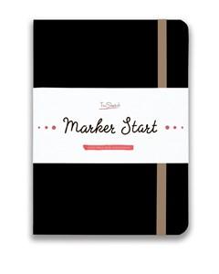 MarkerStArt А5, скетчбук для маркеров /MarkerStArt A5, sketchbook for markers - фото 4782
