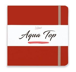 AquaTop 18x18, скетчбук для акварели, 100% хлопок/ AquaTop 18x18, sketchbook for watercolor,  100% cotton - фото 4849