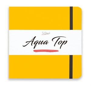 AquaTop 18x18, скетчбук для акварели, 100% хлопок/ AquaTop 18x18, sketchbook for watercolor,  100% cotton - фото 4850