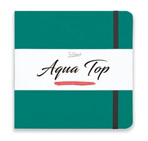 AquaTop 18x18, скетчбук для акварели, 100% хлопок/ AquaTop 18x18, sketchbook for watercolor,  100% cotton - фото 4852