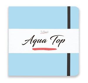 AquaTop 18x18, скетчбук для акварели, 100% хлопок/ AquaTop 18x18, sketchbook for watercolor,  100% cotton - фото 4854