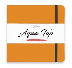 AquaTop 18x18, скетчбук для акварели, 100% хлопок/ AquaTop 18x18, sketchbook for watercolor,  100% cotton - фото 4856