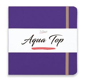 AquaTop 18x18, скетчбук для акварели, 100% хлопок/ AquaTop 18x18, sketchbook for watercolor,  100% cotton - фото 4862