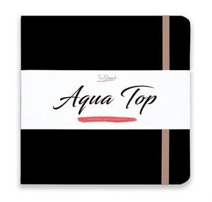 AquaTop 18x18, скетчбук для акварели, 100% хлопок/ AquaTop 18x18, sketchbook for watercolor,  100% cotton - фото 4864