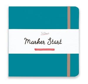 MarkerStArt 20х20, скетчбук для маркеров /MarkerStArt 20х20, sketchbook for markers