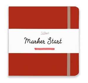 MarkerStArt 20х20, скетчбук для маркеров /MarkerStArt 20х20, sketchbook for markers - фото 4868