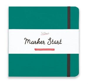 MarkerStArt 20х20, скетчбук для маркеров /MarkerStArt 20х20, sketchbook for markers - фото 4871