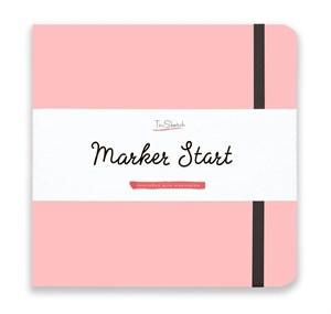 MarkerStArt 20х20, скетчбук для маркеров /MarkerStArt 20х20, sketchbook for markers - фото 4874