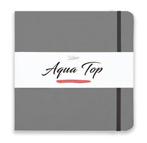 AquaTop 25x25, скетчбук для акварели, 100% хлопок/ AquaTop 25x25, sketchbook for watercolor,  100% cotton - фото 4910