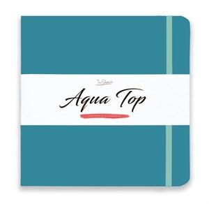AquaTop 25x25, скетчбук для акварели, 100% хлопок/ AquaTop 25x25, sketchbook for watercolor,  100% cotton - фото 4911