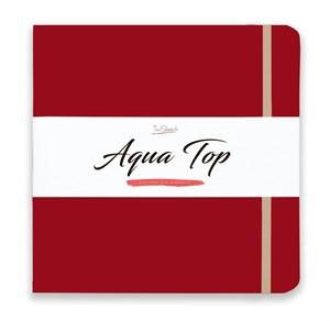 AquaTop 25x25, скетчбук для акварели, 100% хлопок/ AquaTop 25x25, sketchbook for watercolor,  100% cotton - фото 4912