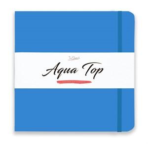 AquaTop 25x25, скетчбук для акварели, 100% хлопок/ AquaTop 25x25, sketchbook for watercolor,  100% cotton - фото 4914