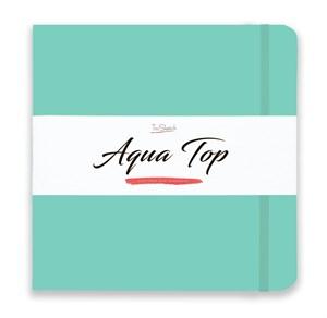 AquaTop 25x25, скетчбук для акварели, 100% хлопок/ AquaTop 25x25, sketchbook for watercolor,  100% cotton - фото 4916