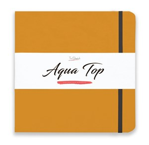 AquaTop 25x25, скетчбук для акварели, 100% хлопок/ AquaTop 25x25, sketchbook for watercolor,  100% cotton - фото 4920