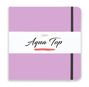 AquaTop 25x25, скетчбук для акварели, 100% хлопок/ AquaTop 25x25, sketchbook for watercolor,  100% cotton - фото 4921