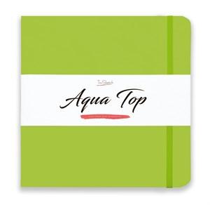 AquaTop 25x25, скетчбук для акварели, 100% хлопок/ AquaTop 25x25, sketchbook for watercolor,  100% cotton - фото 4922