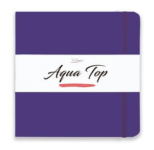 AquaTop 25x25, скетчбук для акварели, 100% хлопок/ AquaTop 25x25, sketchbook for watercolor,  100% cotton - фото 4925