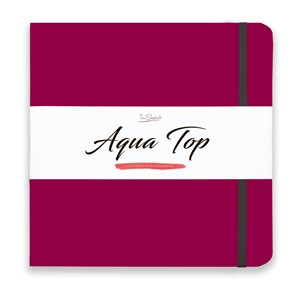 AquaTop 25x25, скетчбук для акварели, 100% хлопок/ AquaTop 25x25, sketchbook for watercolor,  100% cotton - фото 4926