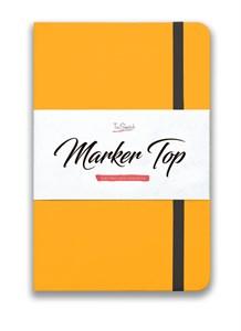 MarkerTop А5,  скетчбук для маркеров  (бумага не пропитывается маркерами насквозь)/ MarkerTop А5 sketchbook for markers (not soaked through with markers) - фото 5001