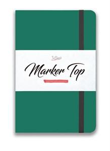 MarkerTop А5,  скетчбук для маркеров  (бумага не пропитывается маркерами насквозь)/ MarkerTop А5 sketchbook for markers (not soaked through with markers) - фото 5003