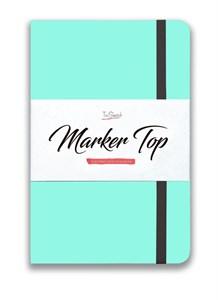 MarkerTop А5,  скетчбук для маркеров  (бумага не пропитывается маркерами насквозь)/ MarkerTop А5 sketchbook for markers (not soaked through with markers) - фото 5004