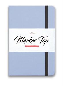MarkerTop А5,  скетчбук для маркеров  (бумага не пропитывается маркерами насквозь)/ MarkerTop А5 sketchbook for markers (not soaked through with markers)