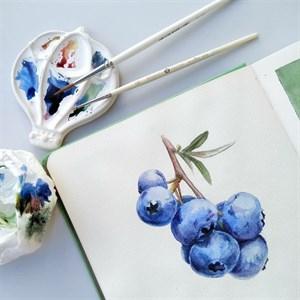 AquaTop 18x18, скетчбук для акварели, 100% хлопок/ AquaTop 18x18, sketchbook for watercolor,  100% cotton - фото 5031