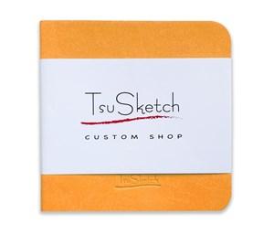 AquaSoft 10x10,скетчбук для акварели,25% хлопка,мягкая обложка из экокожи /AquaSoft 10x10, sketchbook for watercolor, 25% cotton, eco-leather - фото 5094