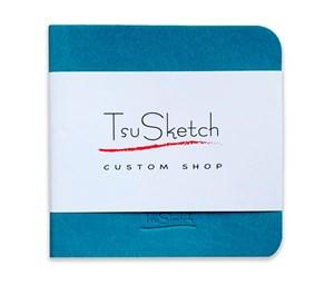 AquaSoft 10x10,скетчбук для акварели,25% хлопка,мягкая обложка из экокожи /AquaSoft 10x10, sketchbook for watercolor, 25% cotton, eco-leather - фото 5095