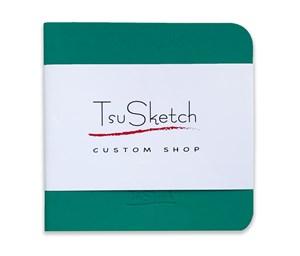 AquaSoft 10x10,скетчбук для акварели,25% хлопка,мягкая обложка из экокожи /AquaSoft 10x10, sketchbook for watercolor, 25% cotton, eco-leather - фото 5096