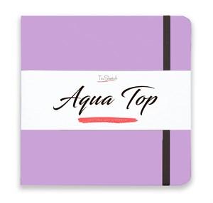 AquaTop 18x18, скетчбук для акварели, 100% хлопок/ AquaTop 18x18, sketchbook for watercolor,  100% cotton - фото 5120