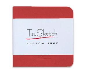 AquaSoft 10x10,скетчбук для акварели,25% хлопка,мягкая обложка из экокожи /AquaSoft 10x10, sketchbook for watercolor, 25% cotton, eco-leather - фото 5135