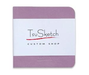 AquaSoft 10x10,скетчбук для акварели,25% хлопка,мягкая обложка из экокожи /AquaSoft 10x10, sketchbook for watercolor, 25% cotton, eco-leather - фото 5137