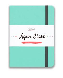 Aqua StArt A5, скетчбук для акварели,  25% хлопка / Aqua StArt A5 sketchbook for watercolor, 25% cotton - фото 5178