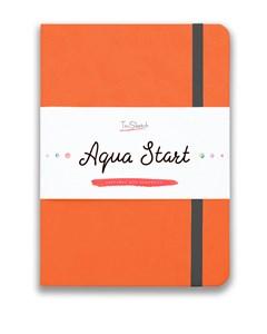 Aqua StArt A5, скетчбук для акварели,  25% хлопка / Aqua StArt A5 sketchbook for watercolor, 25% cotton