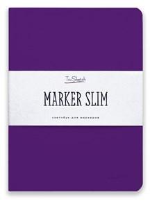 MarkerSlim A5,скетчбук для маркеров в мягкой обложке/ MarkerSlim A5 sketchbooks for markers in softcover. - фото 5188