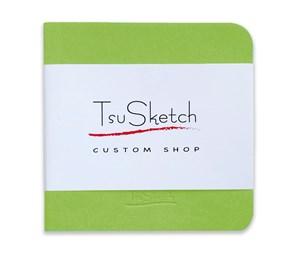 AquaSoftTop 10x10, скетчбук для акварели, 100% хлопок, мягкая обложка из экокожи /AquaSoftTop 10x10, sketchbook for watercolor, 100% cotton, eco-leather
